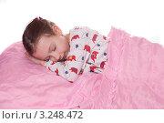 Спящая девочка (2012 год). Редакционное фото, фотограф Артём Скороделов / Фотобанк Лори