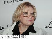 Купить «Валентина Талызина», фото № 3251084, снято 13 февраля 2012 г. (c) Архипова Екатерина / Фотобанк Лори