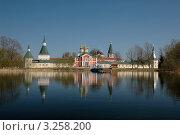 Купить «Иверский монастырь на Валдае», фото № 3258200, снято 3 мая 2008 г. (c) Денис Ларкин / Фотобанк Лори
