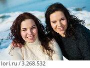 Девушки близнецы. Стоковое фото, фотограф Анна Лисовская / Фотобанк Лори