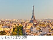 Купить «Эйфелева башня, Париж, Франция», фото № 3273500, снято 19 июня 2019 г. (c) Sergey Borisov / Фотобанк Лори