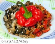 Купить «Овощное сотэ», фото № 3274628, снято 26 мая 2011 г. (c) ElenArt / Фотобанк Лори