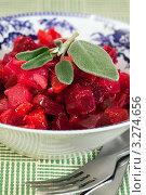 Купить «Русский салат винегрет», фото № 3274656, снято 5 июля 2011 г. (c) ElenArt / Фотобанк Лори