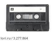 Купить «Аудиокассета на белом фоне», фото № 3277864, снято 18 мая 2011 г. (c) Дмитрий Наумов / Фотобанк Лори