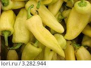Желтый перец. Стоковое фото, фотограф Аврам / Фотобанк Лори