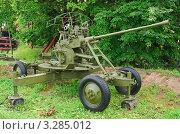 Купить «Автоматическая зенитная  пушка 37-мм (АЗП)», эксклюзивное фото № 3285012, снято 19 июня 2010 г. (c) Алёшина Оксана / Фотобанк Лори