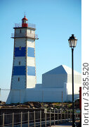 Купить «Маяк. Кашкайш, Португалия», фото № 3285520, снято 10 июля 2011 г. (c) Светлана Колобова / Фотобанк Лори