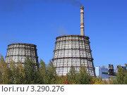Купить «Барнаульская ТЭЦ 3», фото № 3290276, снято 15 сентября 2011 г. (c) Александр Литовченко / Фотобанк Лори