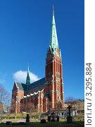 Купить «Церковь Святого Иоанна в Стокгольме, Швеция», фото № 3295884, снято 26 февраля 2012 г. (c) Михаил Марковский / Фотобанк Лори
