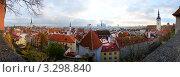 Купить «Вид на Старый город в Таллине, Эстония», эксклюзивное фото № 3298840, снято 24 августа 2019 г. (c) Литвяк Игорь / Фотобанк Лори
