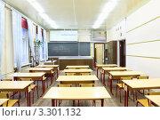 Купить «Интерьер школьного класса по физике», фото № 3301132, снято 14 октября 2010 г. (c) Losevsky Pavel / Фотобанк Лори