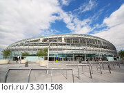Купить «Стадион Aviva в Дублине, Ирландия», фото № 3301508, снято 11 июня 2010 г. (c) Losevsky Pavel / Фотобанк Лори