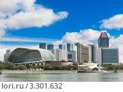 Купить «Театр Эспланада и небоскреб Марина Бэй, Сингапур», фото № 3301632, снято 27 января 2012 г. (c) Руслан Керимов / Фотобанк Лори