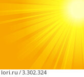 Купить «Солнечные лучи», иллюстрация № 3302324 (c) Лагутин Сергей / Фотобанк Лори