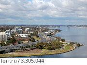 Дорога недалеко от города Перт, Западная Австралия (2010 год). Стоковое фото, фотограф Daniil Nasonov / Фотобанк Лори