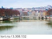 Купить «Городской пейзаж. Лион. Франция», фото № 3308132, снято 24 февраля 2012 г. (c) E. O. / Фотобанк Лори