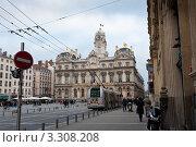 Купить «Ратуша. Лион. Франция», фото № 3308208, снято 14 июля 2020 г. (c) E. O. / Фотобанк Лори