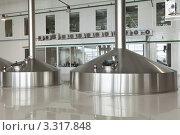 Купить «Интерьер цеха на пивоваренном заводе», фото № 3317848, снято 4 марта 2012 г. (c) Михаил Иванов / Фотобанк Лори