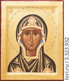 Купить «Икона Божией Матери Марии», фото № 3323932, снято 29 февраля 2012 г. (c) Дмитрий Калиновский / Фотобанк Лори