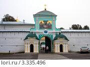 Купить «Православный Свято-Троицкий Ипатьевский мужской монастырь в г. Кострома, Екатериновские ворота», фото № 3335496, снято 18 сентября 2011 г. (c) ElenArt / Фотобанк Лори