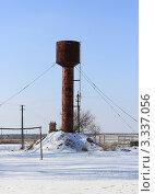 Водонапорная башня в сельской местности. Стоковое фото, фотограф Георгий Чернилевский / Фотобанк Лори