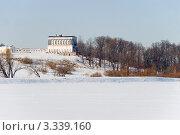 Бабигонский пруд и Дворец Бельведер. Петергоф (2012 год). Редакционное фото, фотограф Александр Щепин / Фотобанк Лори