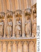 Купить «Часть стены Кафедрального собора. Испания.», фото № 3342208, снято 24 мая 2019 г. (c) valentina vasilieva / Фотобанк Лори