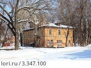 Купить «Старые здания Рязанской областной психиатрической больницы», фото № 3347100, снято 10 марта 2012 г. (c) УНА / Фотобанк Лори