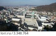 Купить «Панорамный вид Зальцбург, Австрия», видеоролик № 3348764, снято 15 марта 2012 г. (c) Алексей Кузнецов / Фотобанк Лори