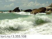Купить «Морская волна», фото № 3355108, снято 28 февраля 2012 г. (c) Наталия Ефимова / Фотобанк Лори