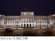 Купить «Санкт-Петербург. Мариинский дворец», эксклюзивное фото № 3362140, снято 24 февраля 2012 г. (c) Литвяк Игорь / Фотобанк Лори