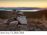 Купить «Хибинские горы, Кольский полуостров», фото № 3364764, снято 18 августа 2011 г. (c) Михаил Митин / Фотобанк Лори