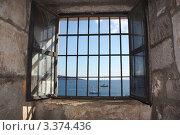 Вид на море из окна. Стоковое фото, фотограф Наталья Гаврилястая / Фотобанк Лори