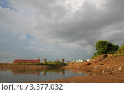 Купить «Небо над Амуром. Хабаровск.», фото № 3377032, снято 2 августа 2011 г. (c) Петроченко Мария Петровна / Фотобанк Лори