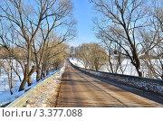 Купить «Весенняя дорога», эксклюзивное фото № 3377088, снято 24 марта 2012 г. (c) Елена Коромыслова / Фотобанк Лори