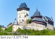 Купить «Замок Карлштейн в Чешской Республике», фото № 3377744, снято 30 мая 2011 г. (c) Юрий Брыкайло / Фотобанк Лори