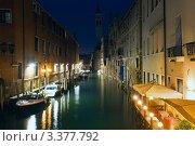 Ночная Венеция (2011 год). Стоковое фото, фотограф Юрий Брыкайло / Фотобанк Лори