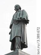 Купить «Памятник Н.В. Гоголю на Гоголевском бульваре», эксклюзивное фото № 3389672, снято 28 марта 2012 г. (c) Алёшина Оксана / Фотобанк Лори