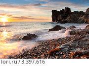 Купить «Красивый морской пейзаж», фото № 3397616, снято 3 декабря 2009 г. (c) Sea Wave / Фотобанк Лори
