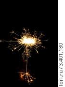 Бенгальский огонь. Стоковое фото, фотограф Наталья Гаврилястая / Фотобанк Лори