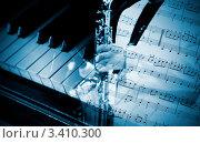 Купить «Джаз - коллаж», фото № 3410300, снято 24 октября 2006 г. (c) Vesna / Фотобанк Лори