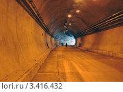 Купить «Строительство автодорожного тоннеля», фото № 3416432, снято 4 апреля 2012 г. (c) Анна Мартынова / Фотобанк Лори