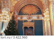 Трон в Кремле (2005 год). Редакционное фото, фотограф Иван Новиков / Фотобанк Лори