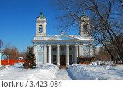 Церковь Сошествия Святого Духа на Лазаревском кладбище. Москва (2012 год). Стоковое фото, фотограф lana1501 / Фотобанк Лори