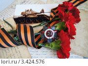 Купить «9 мая», фото № 3424576, снято 6 апреля 2012 г. (c) Tati@art / Фотобанк Лори