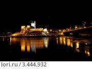 Купить «Вид на Нарвский замок», эксклюзивное фото № 3444932, снято 31 марта 2012 г. (c) Литвяк Игорь / Фотобанк Лори