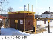 Газораспределительная станция. Стоковое фото, фотограф Николай Мухорин / Фотобанк Лори