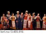 Купить «Кубанский казачий хор», фото № 3455916, снято 4 ноября 2009 г. (c) V.Ivantsov / Фотобанк Лори