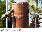Купить «Колонна со змеями», эксклюзивное фото № 3458604, снято 19 августа 2011 г. (c) Журавлев Андрей / Фотобанк Лори