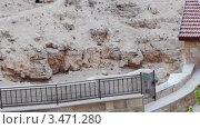 Купить «Лавра Саввы Освященного, Израиль, кельи в пещерах», видеоролик № 3471280, снято 24 апреля 2012 г. (c) Павел С. / Фотобанк Лори